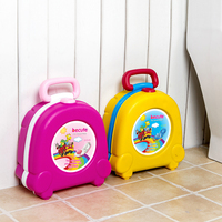 Portable Traveling A Small Baby Potty Quality Urinal Children PP+ABS Baby Potties Fashion Car Toilet Abattant Wc Squatty Potty