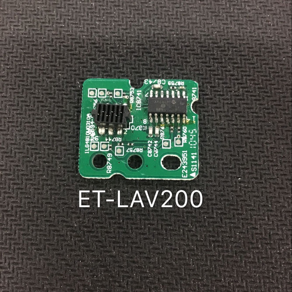 1ps New ET-LAV200 Timekeeping Chip Is Suitable For Panasonic PT-VW435N PT-VW431D,PT-VW430 PT-VW435NU PT-VX505N  Projectors