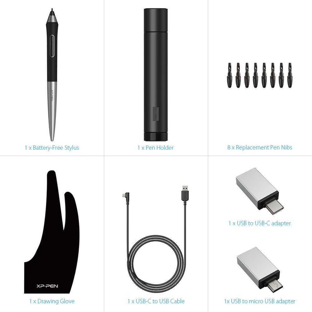 XP-PEN Deco Pro Tablette Graphique avec Double roulettes Fonction Tilt 8 Raccourcis Stylet à 8192 Niveaux Compatible avec Mac/Windows/Appareils et Smartphone Android