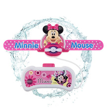 Disney Mickey Minnie Cute Cartoon Figures Outdoor Fun Sports Toys Wrist Watch Water Guns Juguetes For Children