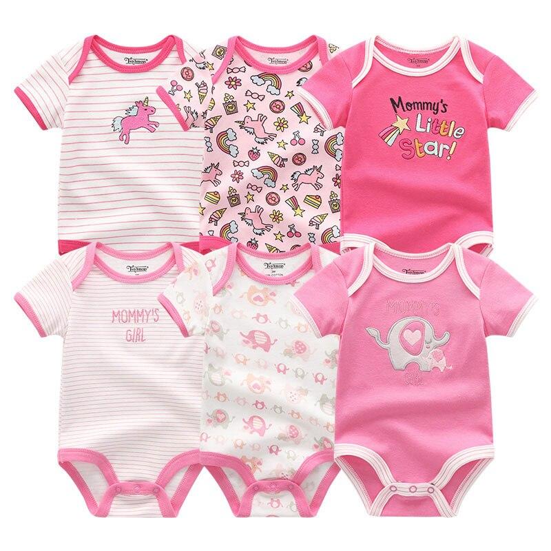 2020 Unisex baby clothes newborn bodysuit roupas bebe girl boy costumes baby clothing set Summer short sleeve infant pajamas