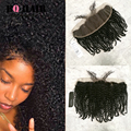 BQ Hair 8A Tissage Bresilienne Avec Lace Frontale 13*4 Kinky Curly Weave Unprocessed Mink Brazilian Lace Frontals with Baby Hair