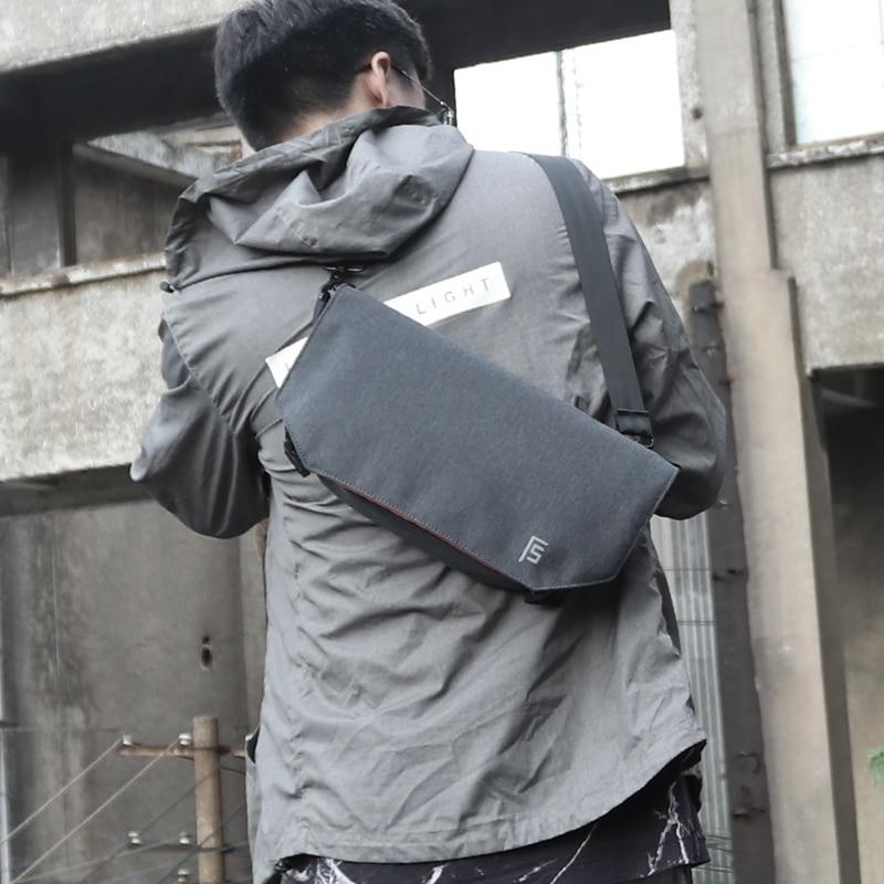 FYUZE New Men Bag Messenger Male Waterproof Nylon Crossbody Bag Fashion Leisure Korea Style Messenger Shoulder Bag For Teenager