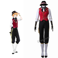 Marginal 4 REVOLUTION R Nomura Cosplay Costume Stage Full Set Suit With Hat For Halloween Christmas