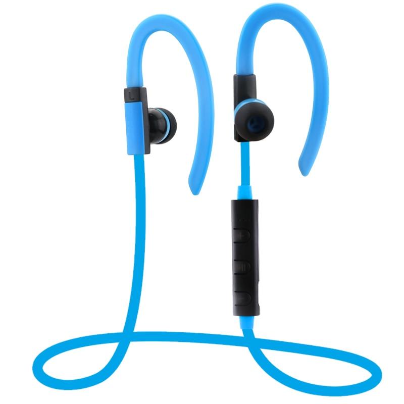new ear hook hands free microphone bluetooth headset stereo sport headphones. Black Bedroom Furniture Sets. Home Design Ideas