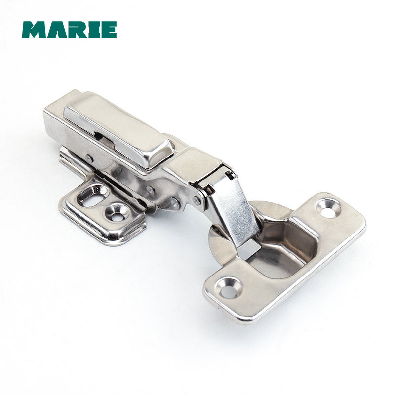 HH102B Top Quality 304 Stainless Steel Half OVERLAY Soft close Self Closing Cabinet Cupboard Door Hinges