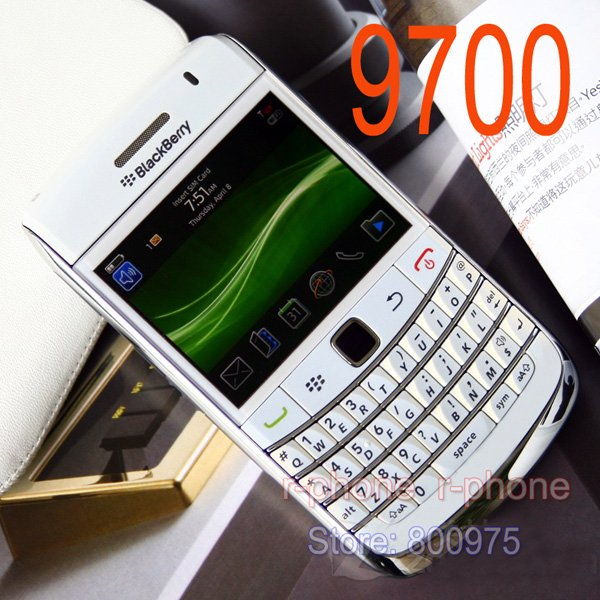 Image 2 - Blackberry original bold 9700 telefone móvel 5mp 3g wifi gps  bluetooth qwerty teclado