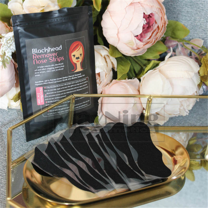 Remove Blackhead 50pcs Nose Strips Black Mask Get Rid Of Black Dots On Noses Jaws Forehead Minimize Pores Cleanser Easily