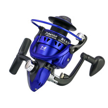2019 New Metal Spool Spinning Fishing Reel 14BB Superior Wheel for Freshwater Saltwater 1000-7000 Series 5.5:1