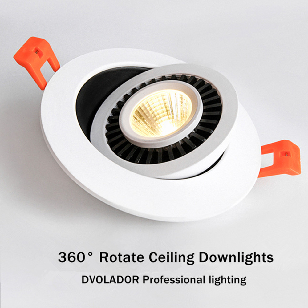 Dimmable Led Down light lamp COB Ceiling Light 5w 7w 10w 12w 85 265V recessed ceiling Dimmable Led Down light lamp COB Ceiling Light 5w 7w 10w 12w 85-265V recessed ceiling Spot Lights for kitchen bedroom home Decor