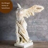 31 см (12 ) высота Смола эллинизма скульптура Крылатая победа самофраца/Древние римляне и греки цифры небьющиеся
