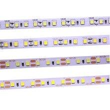 2835 120 נוריות/מטר 600 נוריות/5 m 4000 k סירוס טבעי לבן חם LED גמיש רצועות גמיש LED תאורת קלטת DC12V עמיד למים
