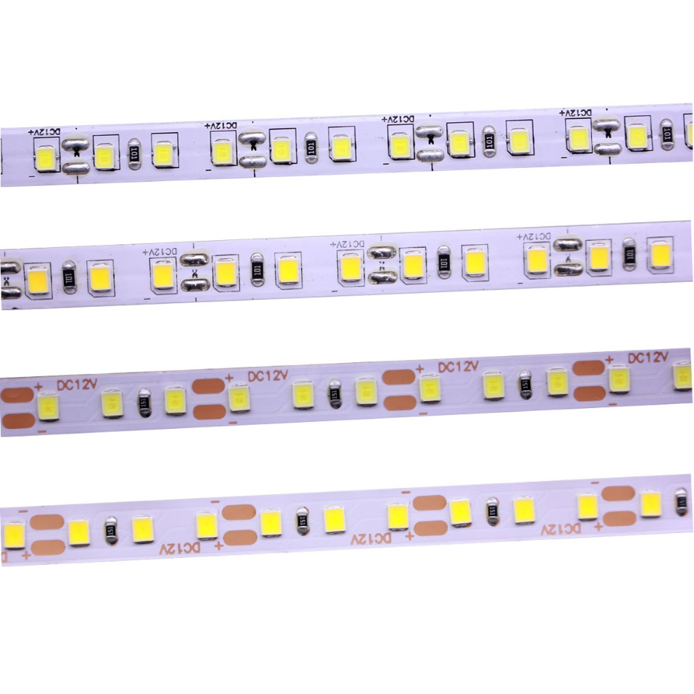 2835 120leds/meter 600Leds/5m  4000k Neuter Natural Warm White  LED Flexible Strips Flexible LED Lighting Tape DC12V Waterproof