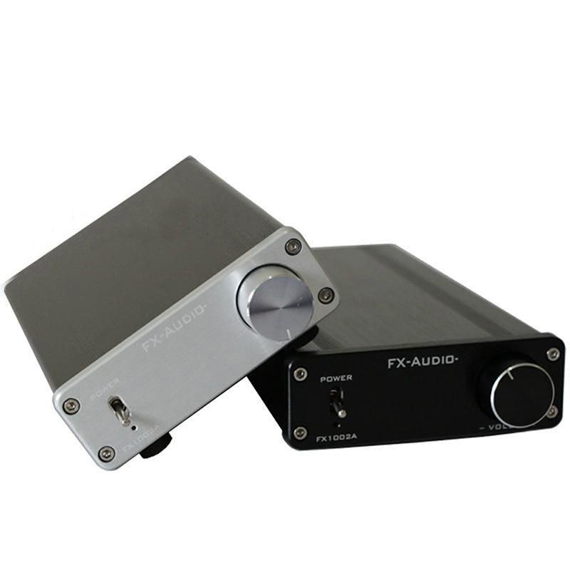 Amplifiers 2017 FX-Audio FX1002A 160W*2 TDA7498E Hifi 2.0 Pure Digital Audio Power Amplifier Mini Home Aluminum Enclosure AMP amplifiers original appj pa1501a mini 6ad10 digital audio voccum tube amplifier hifi desktop amp upgrade version of pa0901a 2017