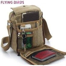 Летящие птицы! Мужские сумки-мессенджеры, сумки через плечо,, холщовые сумки высокого качества, мужские дорожные сумки высокого качества LM0001