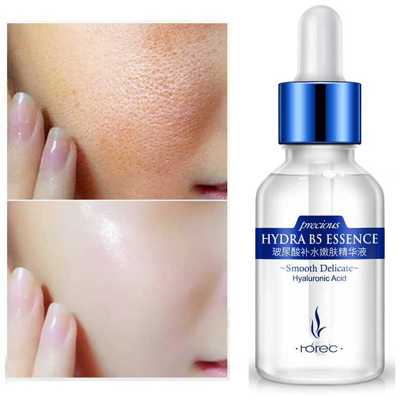 BIOAQUA Hyaluronic Acid Face Serum Facial Anti-Aging Anti-Wrinkle Anti-Acne Liquid Essence Moisturizing Serum Whitening for Face germany balea beauty effect wrinkle filler hyaluronic acid serum moisturizing essence lifting effect vegan paraben free