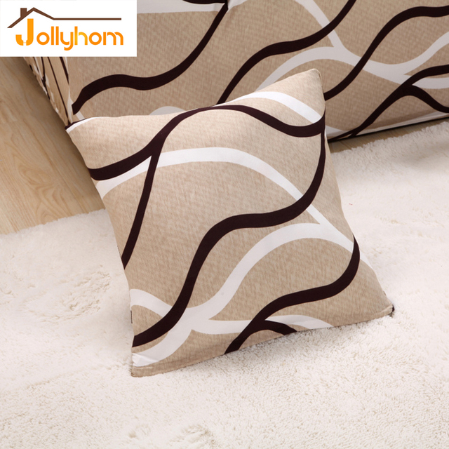100 polyester sofa throws leather button 1pcs 45 45cm elastic cushion cover pillowcase 39 colors