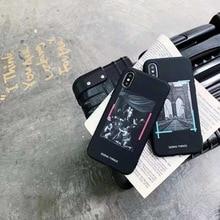 Стильный роскошный мобильного телефона чехол для iphone X 7 7 plus арт Картина маслом мягкий чехол из термополиуретана для iphone 6 6s 8 плюс XS MAX Защитная крышка