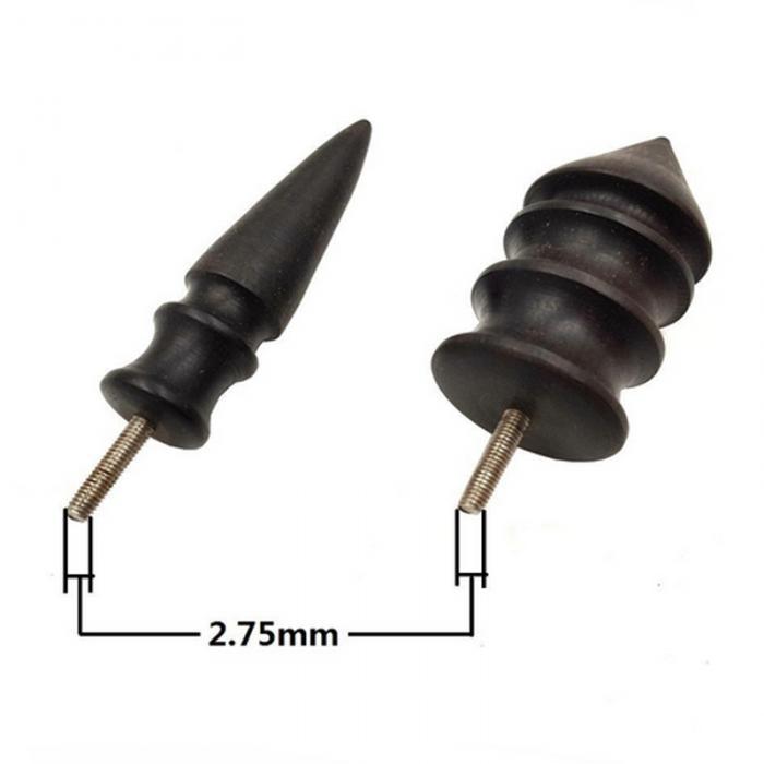 Sandalwood Leather Edge Electric Polishing Slicker