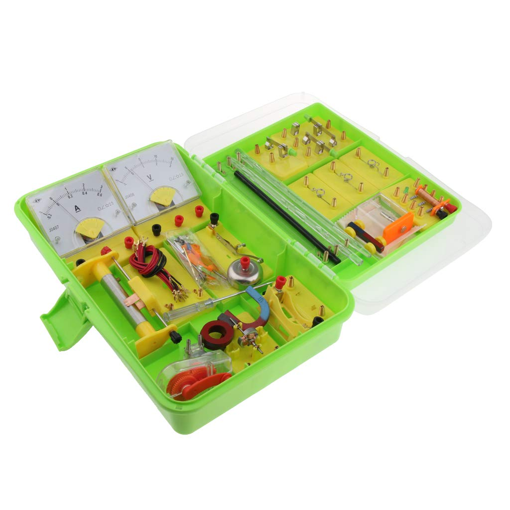 Electric Circuit STEM Kit Physics Experiment Laboratory Supplies Electromagnetism Science Learning Educational Equipment