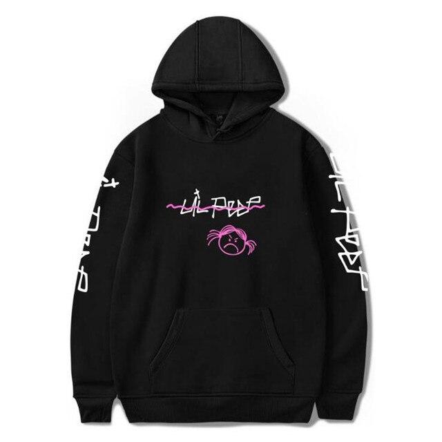 Lil peep толстовки Love зима Для мужчин толстовки пуловер с капюшоном Повседневное мужской/Для женщин модная одежда с длинными рукавами cry baby Большие размеры XXS-4XL