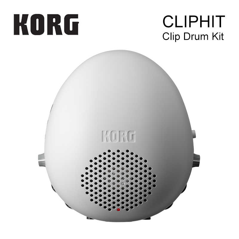 Korg CLIPHIT 1-Piece Drum Set in Bianco