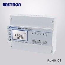 SDM530CT-Modbus+ 1 шт. ESCT-C345 300/5A, 300/5A, 3 фазный трансформатор, 3-в-1 CT. ESCT-C345(серия 5А