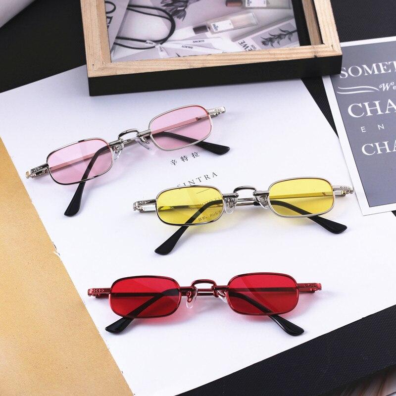 2019 Jahre Neue Modell Vintage Platz Kinder Sonnenbrille 3-9 Jahre Baby Jungen & Mädchen Uv400 Beschichtung Objektiv Kind Brillen Metall Rahmen N319 100% Original