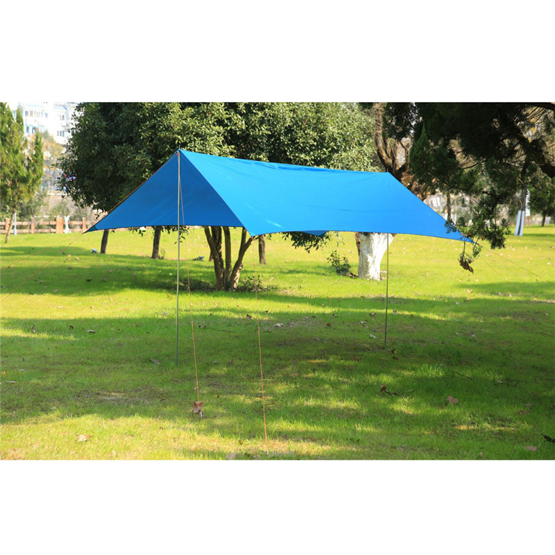 2018 Awning Camping Tent Waterproof Coated Large Shelter Beach Tent Safety & Survival Z922 octagonal outdoor camping tent large space family tent 5 8 persons waterproof awning shelter beach party tent double door tents
