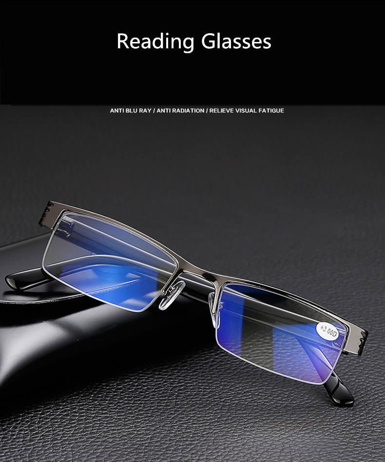 91cddb1bd9 Details about Transition Anti Blue Ray Progressive No Line Reading Glasses  Computer Sunglasses
