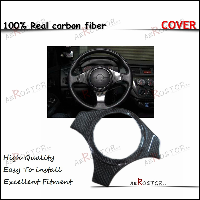 Evo 7 8 9 Steering Wheel Cover Carbon Fiber Evo 7 Evo 8 Carbon