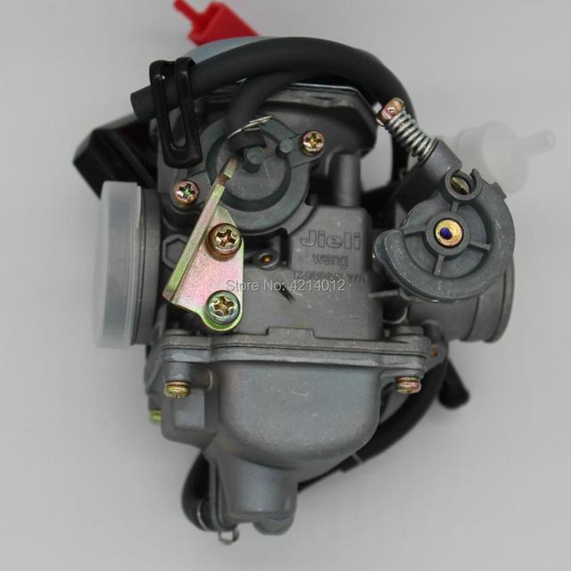 좋은 품질 새로운 gy6 125 150cc 오토바이 기화기 카바 바하 스쿠터 atv 이동 카트 스쿠터 125cc pd24j 오토바이 부품
