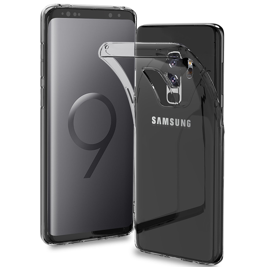 Clear Soft TPU Case for Samsung <font><b>Galaxy</b></font> S9 Case Back Protect Phone Cover Fundas Silicone Shell <font><b>S</b></font> <font><b>9</b></font> For Samsung S9Plus Plus image