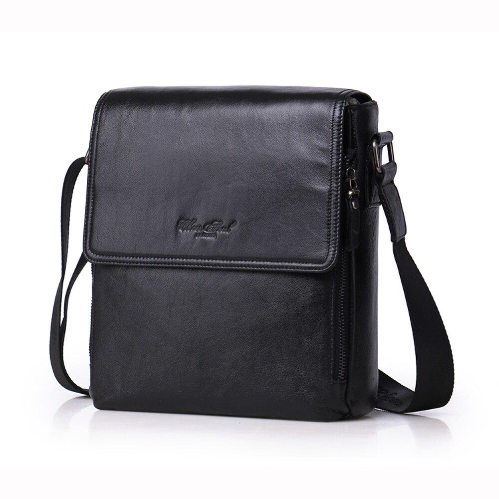 Remonter SOUL Vertical homme sac en cuir véritable mode hommes d'affaires sac porte-documents Messenger sac décontracté hommes sac à bandoulière L187