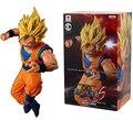 NEW hot 15cm dragon ball Kakarotto Son Goku Super Saiyan 3 action figure toys collection christmas toy doll