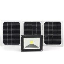 20W solar light garden light led flood light with LUX sensing outdoor wall light IP65 automatic Intelligent switch lamp