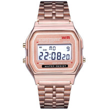Роскошные мужские спортивные часы светодиодные цифровые водонепроницаемые кварцевые наручные часы мужские деловые часы наручные часы женские мужские часы браслет USPS