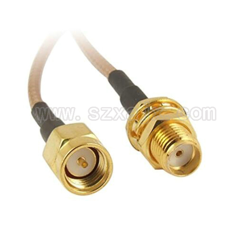 JX RF Coaxial Cable SMA Male to SMA female connector for RG316 Pigtail cable 5cm-5m for 3G 4G Antenna extension cord 20inch rp tnc female jack waterproof to sma male rf adapter connector 50cm pigtail coaxial jumper cable rg316 extension cord