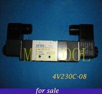 Solenoide Valvula airtac 4V230 08 superior Solenoid Valve 24V DC,5port 2position solenoid valve for gas