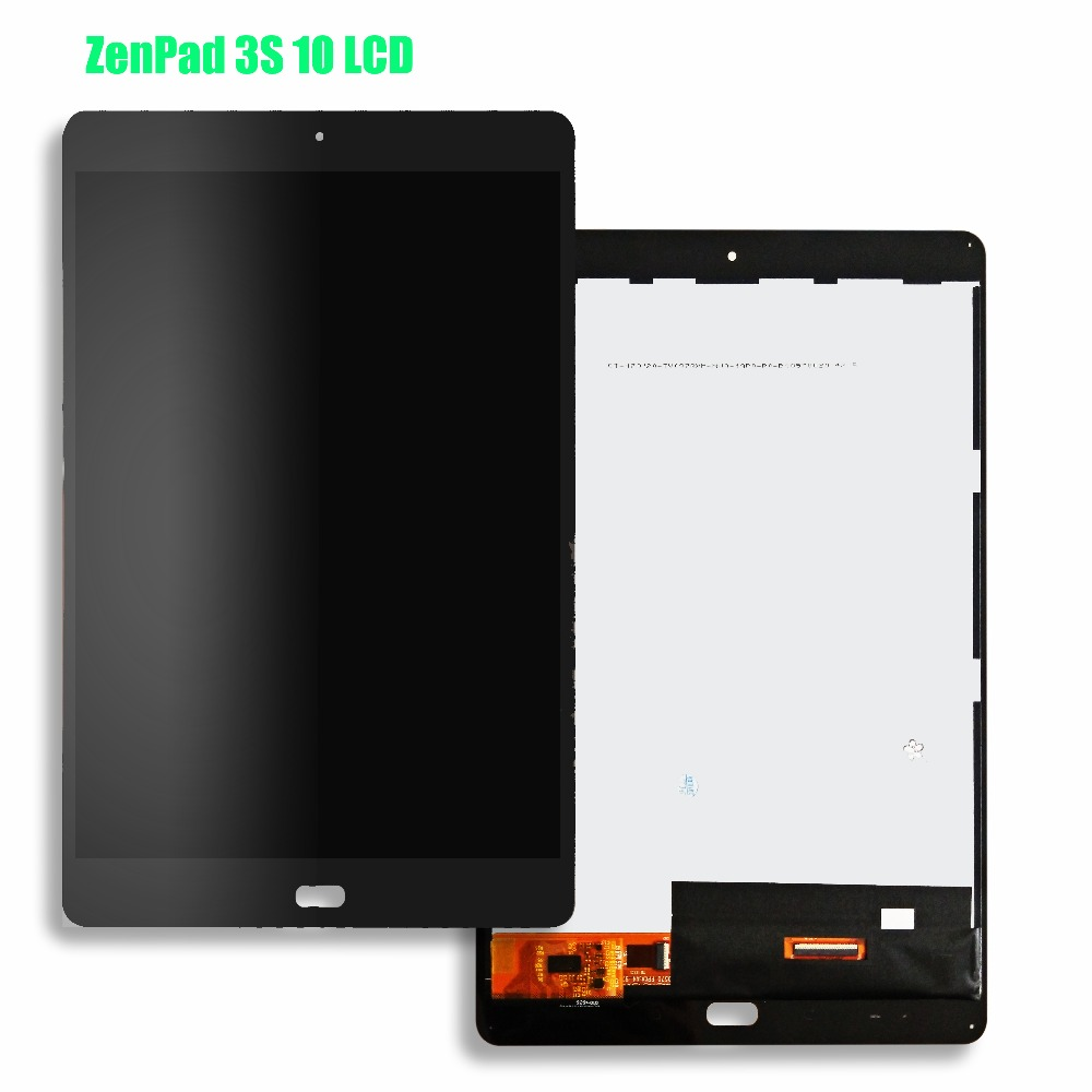 For ASUS ZenPad 3S 10 Z500M P027 Z500KL P001 Z500 LCD Display Matrix Touch Screen Digitizer Sensor Tablet PC Assembly for asus zenpad 3s 10 0 z500 z500m z500kl screen protector glass 9h tempered glass for zenpad 3 s 10 z500 m film