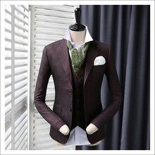 2018 Новое поступление Для мужчин тонкий Повседневное Пиджаки Мужская мода фиолетовый пиджак человек Свадебные платья Костюмы мужской Пиджаки для женщин плюс Размеры