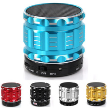 Portable Stereo Bass Speaker with Mic