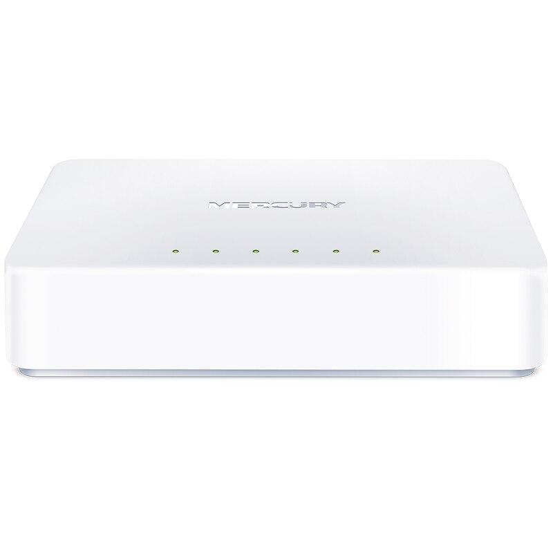 Mercury S105C Network Switch 5 Ports 10/100Mbps Fast Ethernet RJ45 Switcher Lan Hub MDI Full/Half duplex exchange EU US Power