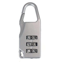 Travel 3Digit Code Safe Combination Luggage Lock Padlock Suitcase
