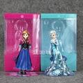 Disney congelado Princesa Ana Elsa Acción PVC Figure 14 CM Con Caja Collection Modelo Brinquedos Animado Mejores Regalos para Las Niñas