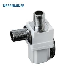 NBSANMINSE SM308C4 Pulse Solenoid ValveDC4.5V 6.5V Induction Sanitary Ware Bathroom tap Valve