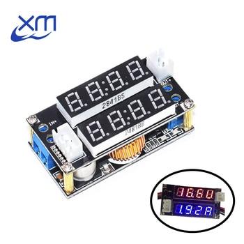 5A de Potencia ajustable CC/CV paso por módulo de carga LED voltímetro amperímetro constante de voltaje constante de corriente constante XL4015 2 en 1