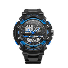 Sport Watch Luxury Double Display Cold Light Electronic Waterproof Mens oct.13
