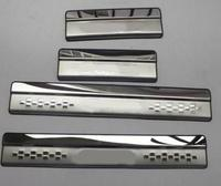New Style ! Stainless Steel Inner Car Door Sill Scuff Plate Cover Trim 4 Pcs / Set For Suzuki SX4 s cross 2017 2018