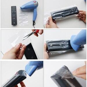 Image 4 - 10pcs SIKAI Schrumpf Film Für Apple Samsung LG TV Klimaanlage Fernbedienung Abdeckung Schrumpf Film für TV Fernbedienung Abdeckung